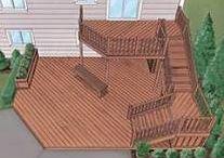 Deck Design (Split Level) / by Shanna Hill
