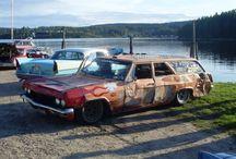 Pilsnerbilar / Mer eller mindre berömda pilsnerbilar.