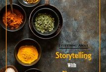 story telling with food