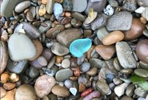Lake Erie Beach Glass / LOVE walking the southern shores of Lake Erie in search of beach glass and shoreline findings....