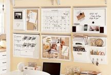 Home office organisation / by Planning With Kids