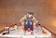 CHRISTMAS CHOCOLATE HOUSES