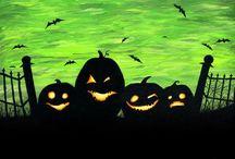 Halloween-taide
