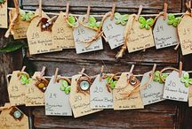 Escort Cards / Fabulous ideas for escort cards