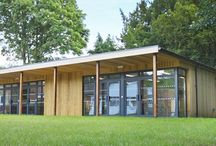 Eco-classroom for performing arts at Swalcliffe Park School