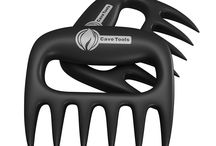 Best Meat Claws For Shredding, Handling, Carving Food / Collection of pictures from happy customers who have received their Cave Tools meat claws. Our meat claws are perfect for pulling pork, picking up large chunks of meat, and carving food.   Save 20% on your Meat Shredding Claws at http://cavetools.com/socialmfpromo
