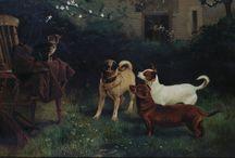 pugs in art