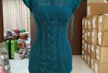 my crochet & knitting project