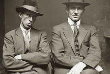 Criminal mugshots 1920s Sydney Australia