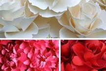 Paper flowerss