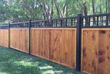 Garden and fencing