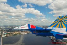 The Russian Knights aerobatic team