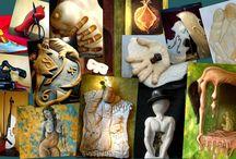 Manuel surrealist (A Touch of Art) /  Manuel surrealist (A Touch of Art)   Manuel surrealist sculptor/ painter (A Touch of Art Manuel) Manuel House of Art Mykonos http://manuelsurrealist.blogspot.gr/