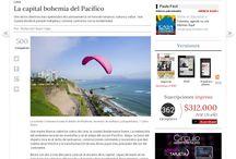 En los Medios 2013 / Temas donde se menciona a Perú y que es publicado por los diferentes medios de comunicación en el Mundo
