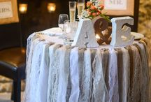 sweetheart table / by Heidi Spiess
