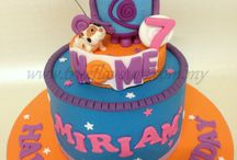 Home Cartoon cake