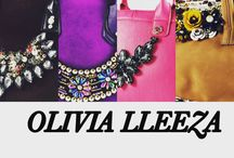 Olivia lleeza handbags designed for you  / Every bag is made with love and care especially for you.