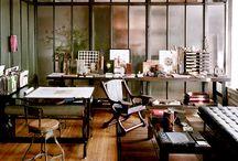 STUDIO / Beautiful and creative studio spaces
