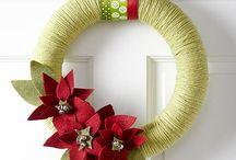 Efi's Christmas WREATHS AND DOORS