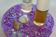 Double perfume roll on holder!!!! / The Perfume roll on holder its very useful especially because small perfume roll on can fit in and be safe! The colours are very impressive and really gorgeous!  Decorate your bathroom and bedroom !!!!  Perfume roll on holder can be matched with candle holders in our shop making a perfect gift set. contact me for more info...