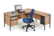 Maestro Desks & Dams Office Furniture / We stock the entire range of Dams Maestro desks, pedestals, and filing cabinets. Visit our website to see what deals and best prices you can get today on their cantilever, H frame, and panel leg office desks designs in the Maestro range.
