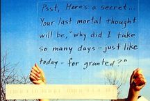 PostSecret & SecretZen / I love these sites that help us to understand that we are all connected - more than we will ever know. Sometimes we are not as alone as we think.