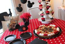 Minnie/Mickey Bday Party / by Amy Winter Spann
