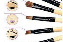 Guía del cepillo de maquillaje