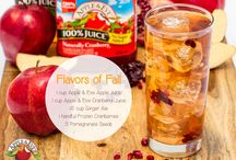 Yummy beverages! / Make some delicious smoothies and beverages from Apple & Eve. #purelyorganics