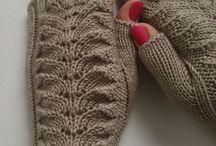 Варежки,  митенки, перчатки