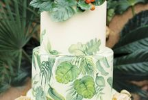 Cakes with Leaves
