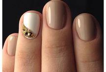 Короткие ногти, красивый маникюр
