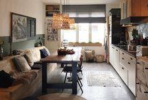 woonkamer/keuken nieuw