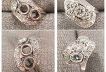 Before and After Jewelry Repairs / After 30 years in business we've seen and repaired nearly every kind of jewelry.  These are a sample of some of those repairs...