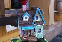 Gingerbread houses / Ideas and inspiration for Xmas Gbread houses