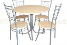 4 Seat Dining Sets / Dining Sets are available in various designs, sizes and finishes. You need to choose dining tables which can be easily incorporated into your dining area and decor. You can make your dining room elegant and beautiful with the right piece of dining room furniture.