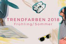 Trendfarben Frühling Sommer 2018
