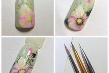 pintura em unhas