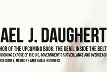 Books / Michael J. Daugherty, Joan and Roy's son, publishes a true story / by Joyce Marker