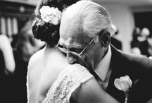 Real Wedding Moments / I love to define a real moment as something that happened without the photographer interrupting/directing. I love real moments.