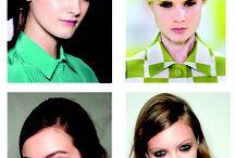 4 Xu hướng tóc đẹp cảm hứng từ sàn diễn / Các xu hướng làm tóc mới nhất được sáng tạo bởi các nhà mẫu hàng đầu từ 4 kinh đô thời trang lớn nhất.