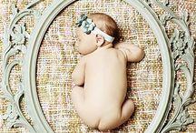 Newborn Pics / Newborn baby pic ideas