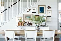 Traphal / Ideas to decorate the nook around our staircase