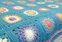 Crochet blankets.