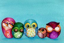 Owls / by Ellen Van Raemdonck