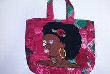 Τσάντες Χειροποίητες / Χειροποίητες Τσάντες φτιαγμένες από διάφορα υλικά με ιδιαίτερα σχέδια και χρώματα.