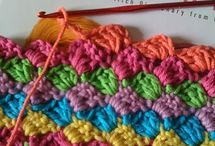 Crochet - Stitches / by Gitte Andersen
