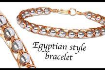 gyöngy egyipt. style