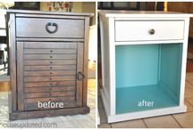 Upcycled furniture  / by Michael Perkins