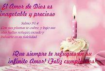 Cumpleaños / Felicitaciones cristianas